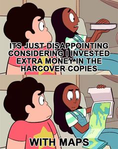 Steven Universe / Books. We've all been there.