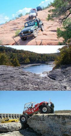 Right next to Grand Lake in northeastern Oklahoma, Hogan's Off Road Park sits as an ATV paradise. The park includes about five square miles of rock structures and trails that test the limits of even the best off road vehicles.
