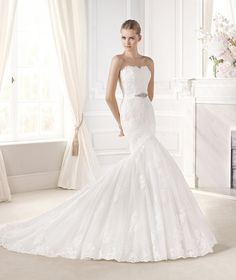 Evanthe Contact us at www.privatelabelb... Located in #Everett #Washington 425-348-4696 #Seattlebride #Seattle #Bride #Bridal #Washingtonweddings #weddings #bridalgowns #weddingdresses Call us to book an appointment today! #Pronovias #Sisterdesigners #Lasposa #Spanishgown #privatelabelbridal