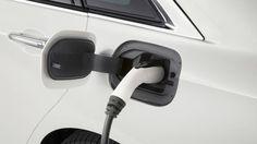 Зарядка плагин гибрид Cadillac CT6 Plug-In Hybrid 2017 / Кадиллак СТ6 2017 плагин от сети
