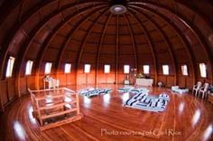 Take a sound bath in the Integraton in the Mojave Desert - The Integratron is the creation of George Van Tassel, and is based on the design of Moses' Tabernacle, the writings of Nikola Tesla and telepathic directions from extraterrestrials.