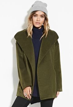 Shawl Collar Car Coat | Forever 21 #foreverfamily
