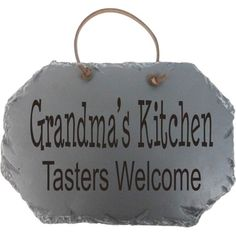 Fireside Home - FHG-050 Slate - Grandmas Kitchen - Tasters Welcome, #home #decor #homeaccent #homedecor #western #country #westerndecor #gift (http://www.firesidehome.ca/fhg-050-slate-grandmas-kitchen-tasters-welcome/)