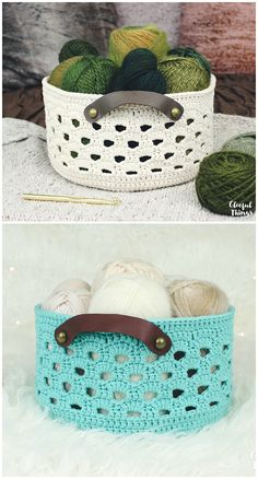 I am going to show you some #crochet #basket patterns which will increase your home décor!Rustic Lace Basket Crochet Pattern