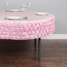 Buy Round Tablecloths For Weddings And Events At LinenTablecloth. A Round  Tablecloth Is Available In Multiple Sizes And Fabrics. Quality Table Linens  For ...