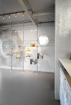 dog grooming interior design | 2010 Unleashed Dog Spa Interior Design by Square One Interiors