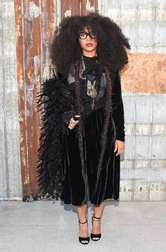 Erykah Badu to Style Pyer Moss's Fall 2016 Collection