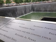Amazing.  Among those listed on the Ground Zero memorial where the World Trade Center once stood is a victim no one ever met--the unborn child of a woman named Vanessa Lang Langer, who died in the towers on September 11th.