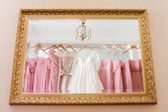 pink blush bridesmaids dresses