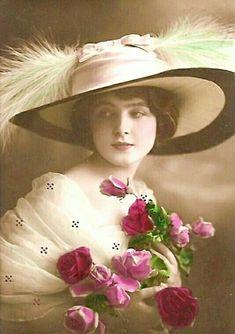 Ideas flowers vintage decoupage originals for 2019 Images Vintage, Photo Vintage, Art Vintage, Vintage Girls, Vintage Pictures, Vintage Photographs, Vintage Beauty, Vintage Postcards, Vintage Children