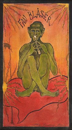 View The Devil Blows By Hugo Simberg; Access more artwork lots and estimated & realized auction prices on MutualArt. Oz Magazine, North Europe, Gerhard, Colorful Paintings, Surreal Art, Macabre, Drawing S, Cool Artwork, Scandinavian