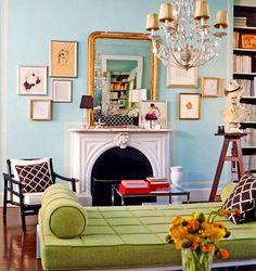 Colourful Living Room - dreams!