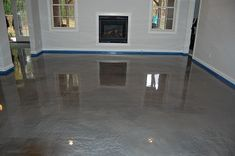Unlike other concrete coatings Aurora Epoxy Dust reflects light rather than absorbing it, creating a floor with depth and dimension.