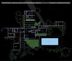 Galera de Clsicos de Arquitectura Casa Kaufmann  Richard Neutra  18  DM ENVD202 Project 7  Desert homes Richard neutra y School Architecture
