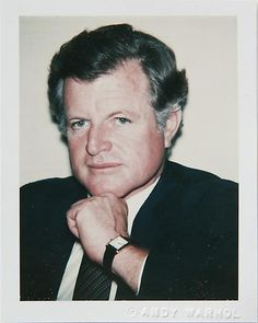 Andy Warhol, TED KENNEDY. ©The Andy Warhol Foundation for the Visual Arts, Inc/ Danziger Gallery