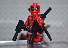 Deadpool Minifigure Brand New SEALED!  Lego Compatible Lego Deadpool, G Man, Ebay