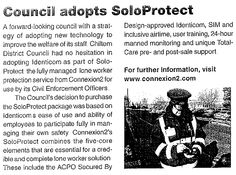 Council Adopts SoloProtect