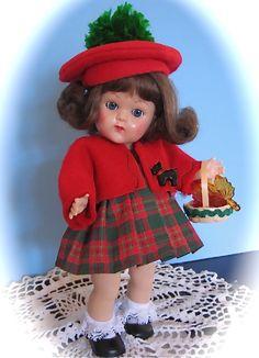 winter ensemble for Ginny dolls