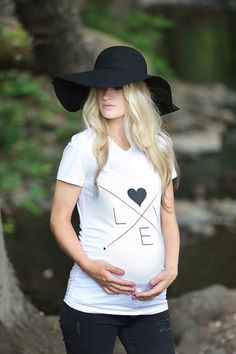LOVE Arrows Maternity Shirt by tolittlearrows, Maternity Graphic Tee, Maternity…