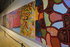 Yayoi Kusama, In Infinity exhibition, at Helsinki Art Museum. Yayoi Kusama, Helsinki, Store Design, Art Museum, Sculpture Art, Quilts, Artist, Infinity, Painting