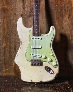 #Straturday Sporting some sweet '64 reissue pickups and a Half Blender that rolls the neck pickup into positions 1 and 2, this Fender Custom Shop Heavy Relic Stratocaster has both a classic look and some great modern features. Check it out at elderly.com.