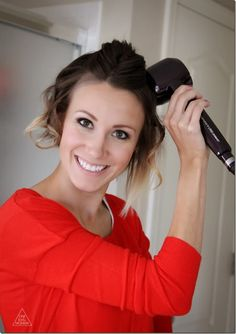 Love this! How to Curl Short Hair with Conair Curl Secret- Tutorial