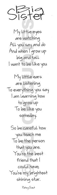 Big Sister To Brother Quotes: 1000+ Images About Big Sister On Pinterest