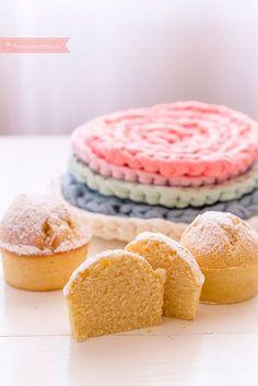 Pequerecetas - Magdalenas con harina de arroz, ¡deliciosas! Diabetic Desserts, Gluten Free Desserts, Dessert Recipes, Pregnancy Breakfast, Cupcakes, Vanilla Cake, Doughnut, Dairy Free, Muffins