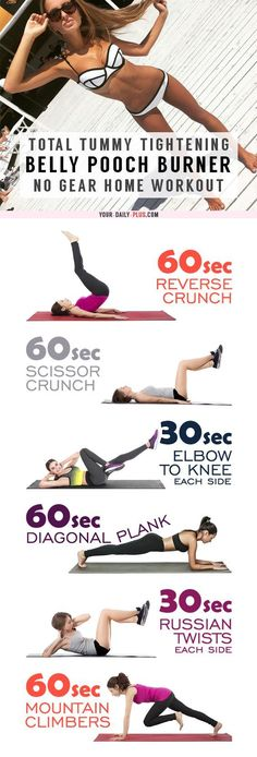 c5c7ebda89325 This killer tummy-cinching routine works magic on muffin tops and that soft  belly pooch