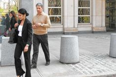 Michael Persico and his attorney Sarita Kedia at Brooklyn Federal Court. Colombo Crime Family, Mobsters, Mafia, Brooklyn, York, History, News, Federal, Poster