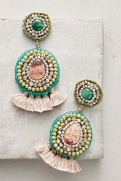 Anthropologie Dorien Drop Earrings