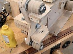 Homemade 2 x 72 Belt Grinder, page 5 Essential Woodworking Tools, Antique Woodworking Tools, Rockler Woodworking, Woodworking Basics, Woodworking Projects Plans, Woodworking Organization, Unique Woodworking, Intarsia Woodworking, Woodworking Workshop