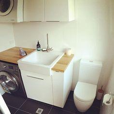 Installing an #IKEA #metod system into the #laundry. #renovation #newlaundryroom #lovemyikea despite #allenkeynightmares @ikea_australia