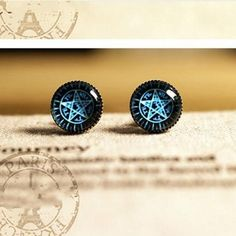 5cfef09ae07 1 Pair Top Cool Boys Vintage Copper 10MM Round Small Stud Earrings New  Fashion Men Glass