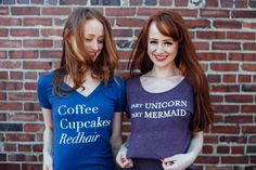 Debunking redhead myths on National Love Your Red Hair Day Red Hair Day, Mermaid Cupcakes, Stunning Redhead, Natural Redhead, Vintage Mermaid, Beauty Book, How To Feel Beautiful, Redheads, Style Me