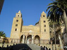 Front side - Cathedral Cefalu - Sicilia