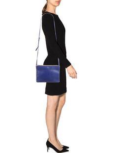 Céline Large Trio Crossbody Bag. #RealRealLucky