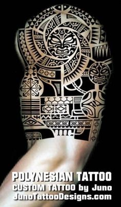 Polynesian tattoo arm, juno tattoo designs, polynesian symbols meaning, tribal tattoo, samoan tattoo, dwayne johnson tattoo #samoantattooschest #samoantattoossymbols
