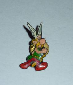 pin Asterix pintado y lacado