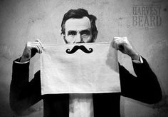 Mustache Shaving Towels  Terry Velour by HarvestBeard on Etsy