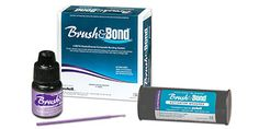 Brush & Bond from Parkell! Single-bottle, self-etching, self-priming, light-cured dentin bonding agent that contains 4-META.Etch uncut #enamel with phosphoric acid before applying adhesive. It can be used to bond direct and indirect composite and #ceramicrestorations. It is compatible with light-cured, dual-cured and self-cured resins. It can also be used on dentin surfaces. #bondingagent