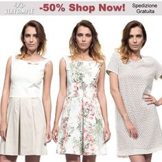 Spring Summer 2014 NOW ON SALE 50% OFF - Shop Now at www.verysimple.it