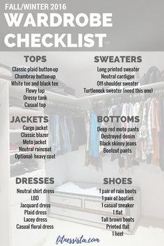 Fall Wardrobe Staples | The Fitnessista | Bloglovin'