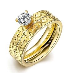 SJTGR057 SJ Luxurious Dubai Jewelry Cubic Zirconia Titanium Steel Gold Plating Shiny Women Wedding Ring Set http://wholesaler.alibaba.com/product-detail/SJTGR057-SJ-Luxurious-Dubai-Jewelry-Cubic_60453010818.html