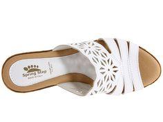 Spring Step Dora Women's Shoes Sandals, Leather Sandals, Wedge Sandals, Shoe Boots, Cute Shoes, Me Too Shoes, Comfortable Walking Sandals, Spring Step, Fashion Flats