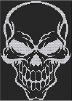 Gothic Harley Quinn contati Punto Croce Kit DMC-Fantasy-Dark