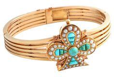 Victorian Turquoise Clover Bracelet on OneKingsLane.com  $3,995.00