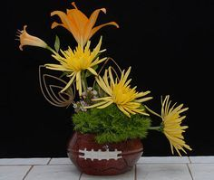 football floral centerpieces - Google Search