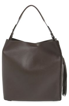 ALLSAINTS 'Pearl' Leather Hobo available at #Nordstrom