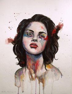 La vulnerabilidad retratada por Bella Harris